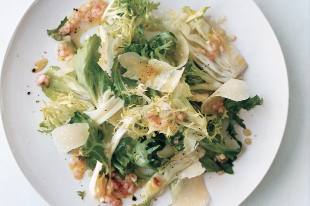 Fennel Frisee Salad