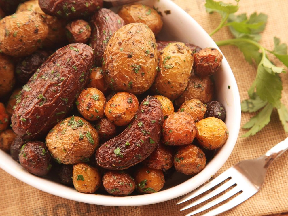 Crispy Herb-Roasted New Potatoes