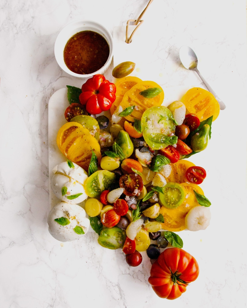Heirloom Tomato and Potato Salad