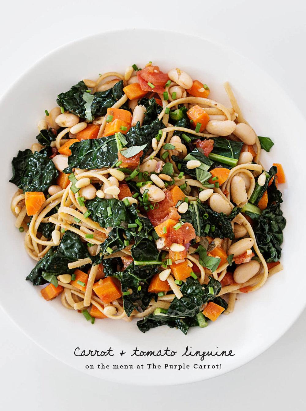 Carrot & Tomato Pasta