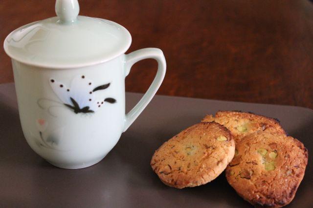 Cinnamon Basil & Lime Icebox Cookies