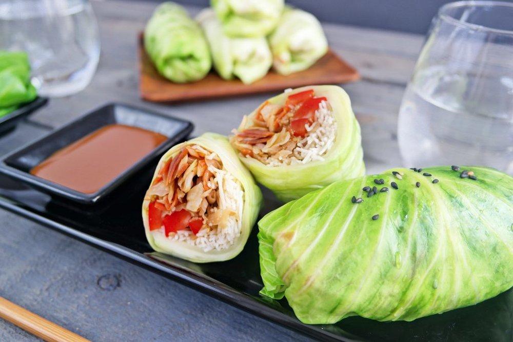 Cabbage Spring Rolls