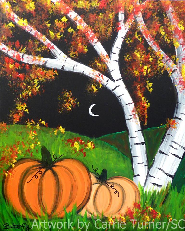 pumpkin pints for paints at weasel boy brewing zanesville ohio.jpg