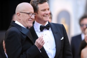 Rush & Firth at Oscars