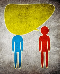 Does your friend talk too much? Maybe it's your responsibility to talk more?