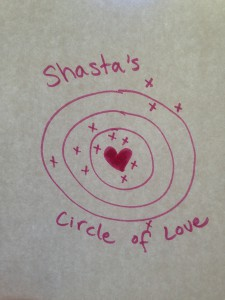 Shasta's Circle of Love