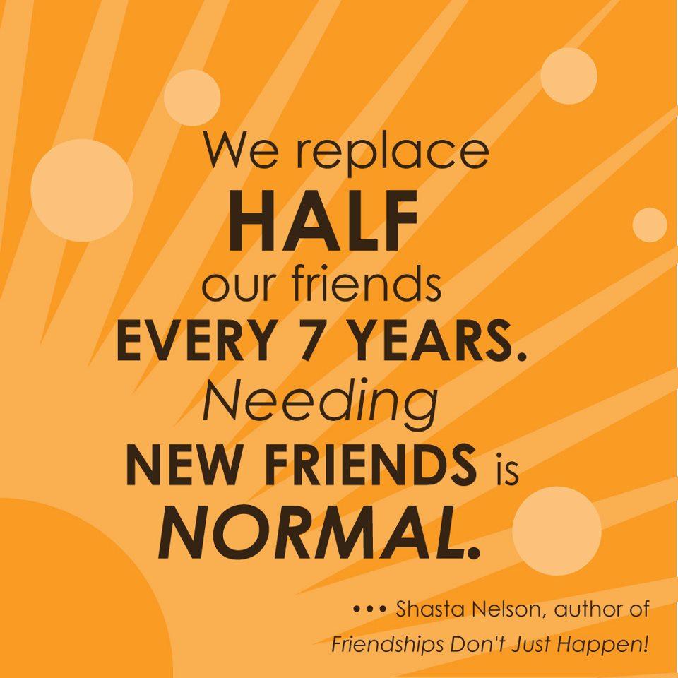 TEN STEPS TO STARTING FRIENDSHIPS