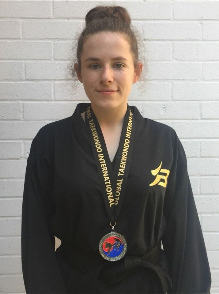 Matilda - BTKD Princes Risborough/ AYLGTI National Open 2018 Silver Medal Individual Sparring