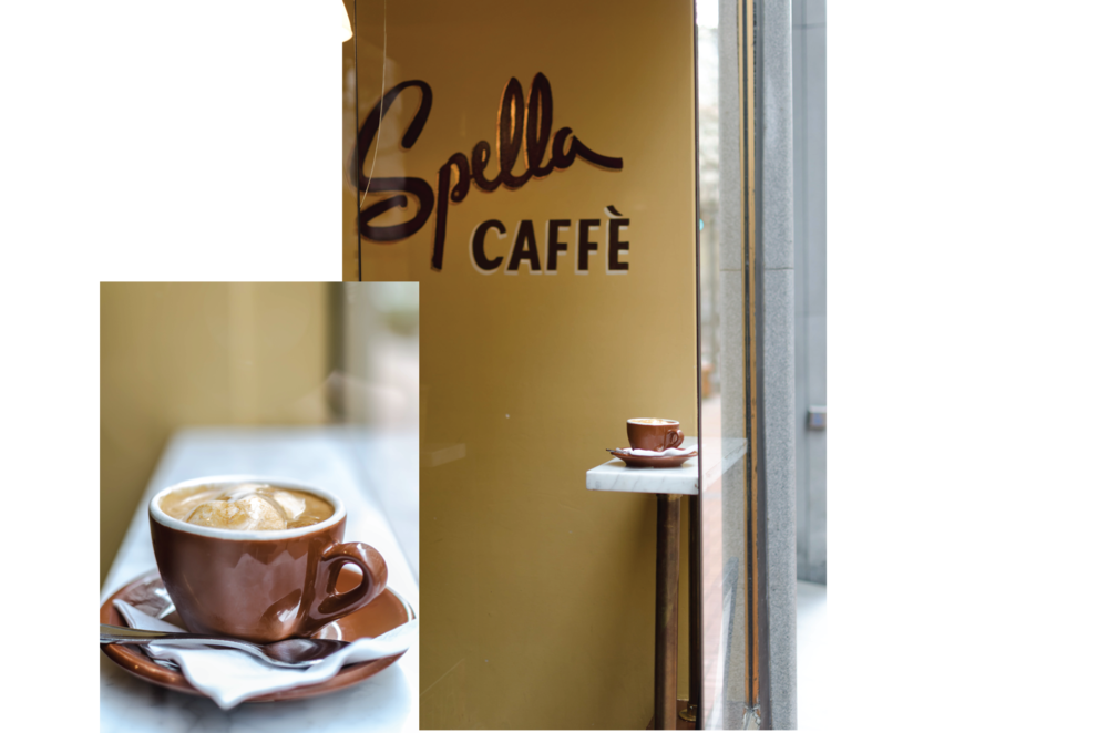 Spella - A coffee shop honoring the Italian espresso. Just a few blocks from Pioneer Square, in downtown Portland, Spella is in fact a place for real coffee drinkers. This shop probably only fits six standing people at a time, mostly locals! You'll be nicely surprised when you see the baristas wearing a charming uniform with pride. If you're lucky, you may be served by Andrea, the founder himself! Do note that the caffe is only open Monday through Friday, from 7:30 to 3:30. We dare say they serve the best affogato in town. If you are in Portland during the week, you won't regret paying a visit!