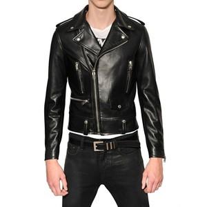 Napa Leather Biker Jacket by Saint Laurent (4,900.00)