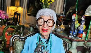 Iris Apfel in her Glory