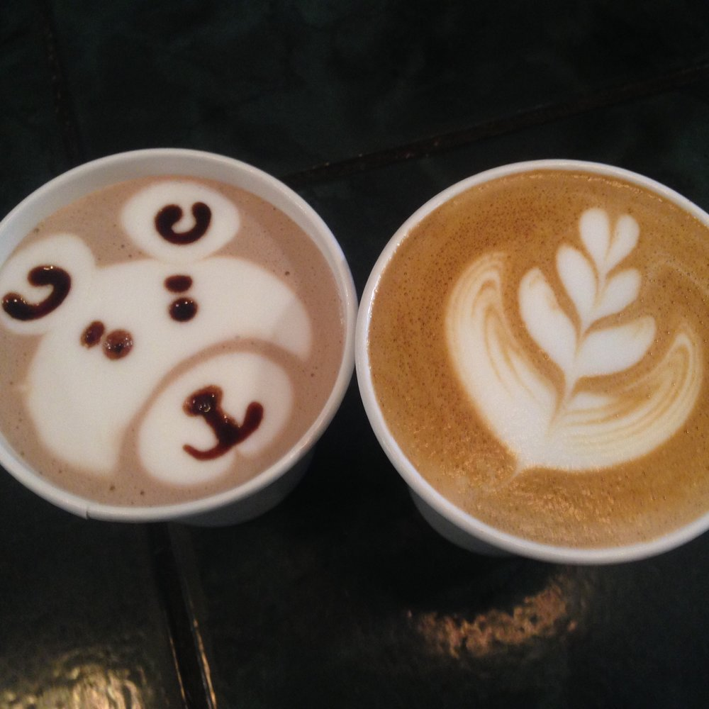 Chocco Bear Latte Art