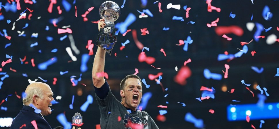 Tom Brady. Credit Getty Images