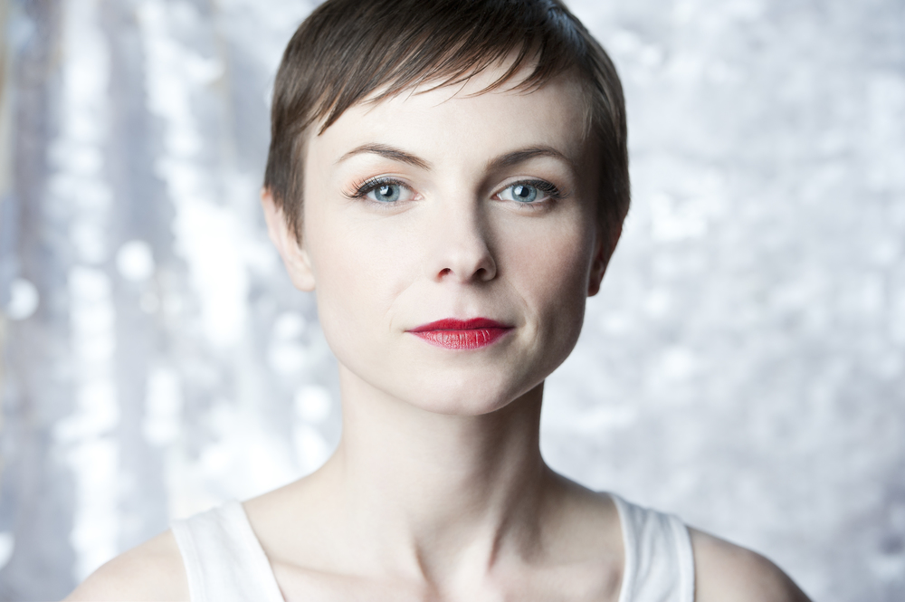 Portrait of music artist Kat Edmonson for Sony Music BMG