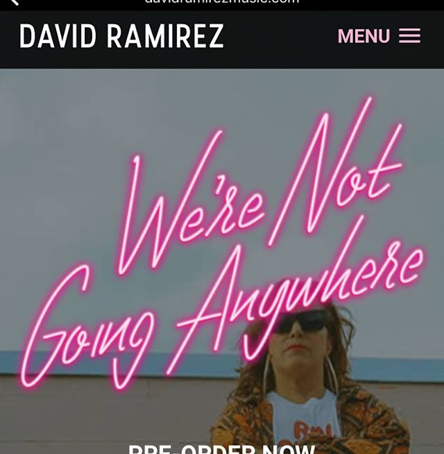 This dude - super inspirational to me in my writing. Go stream his new record now and then buy it and all the other ones. Best $$ you've ever let go of. #davidramirez #apologies #rooster #fables #raw #americansoil #werenotgoinganywhere #strangetown