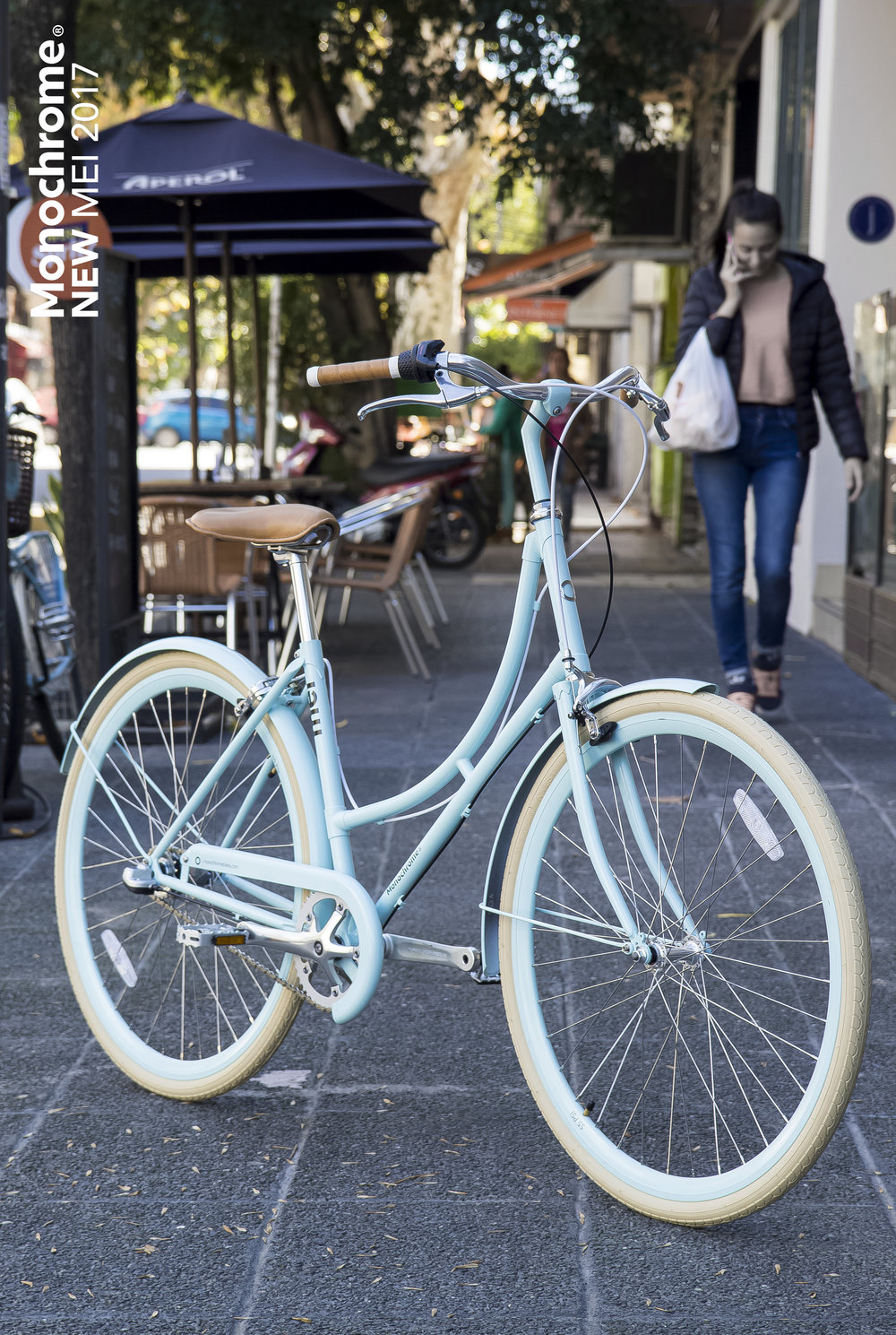 MEI LIGHT BLUE - BICICLETA URBANA-