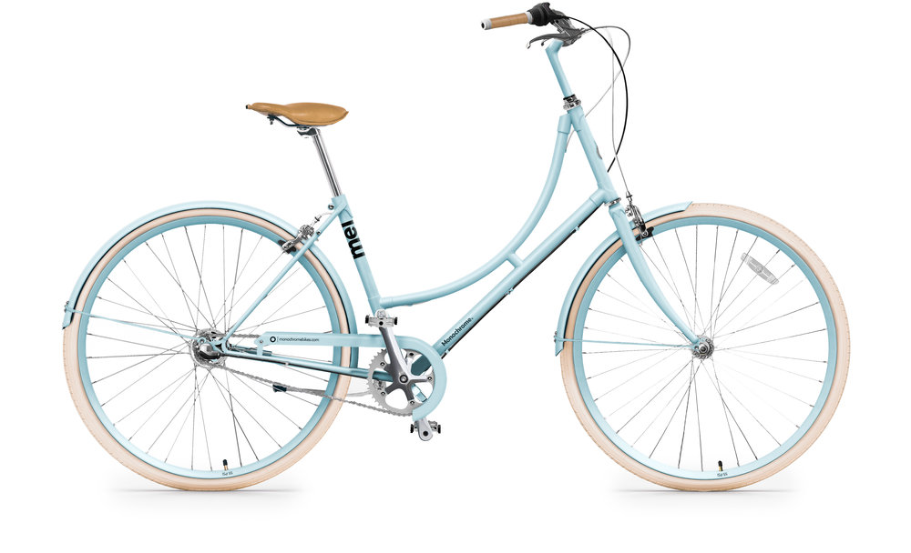 MEI LIGHT BLUE-  BICICLETA URBANA