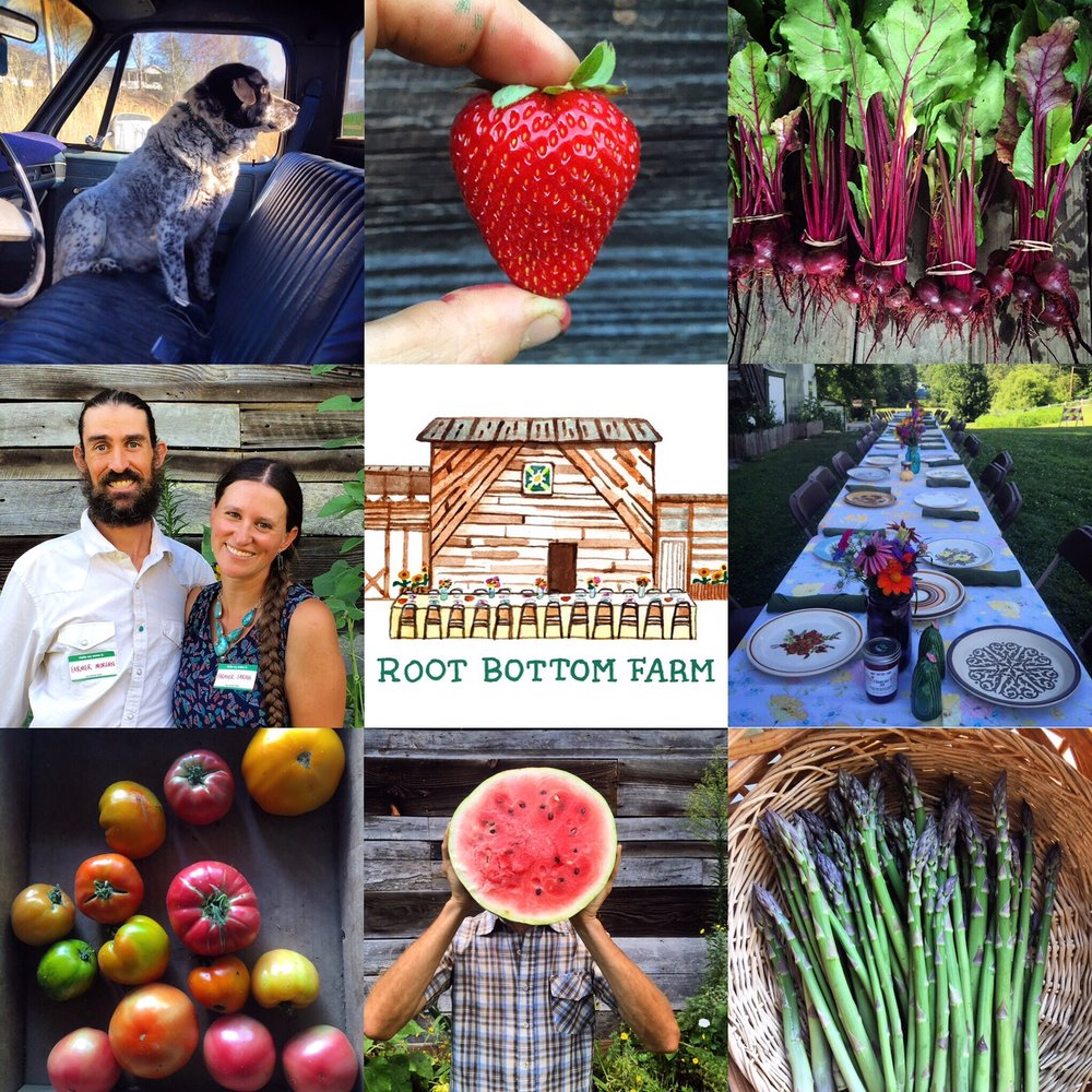 A huge heart felt THANK YOU to everyone that makes this farm life a dream come true.    Hope to see y'all in 2017. Check out our year in review at :   http://rootbottom.blogspot.com/2016/12/2016-year-in-review-root-bottom-farms.html