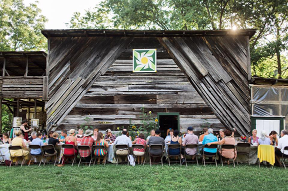 Our popular farm to table dinners and our Pedal to Plate (bike-farm-to-table)