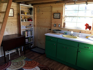 furnished kitchenette
