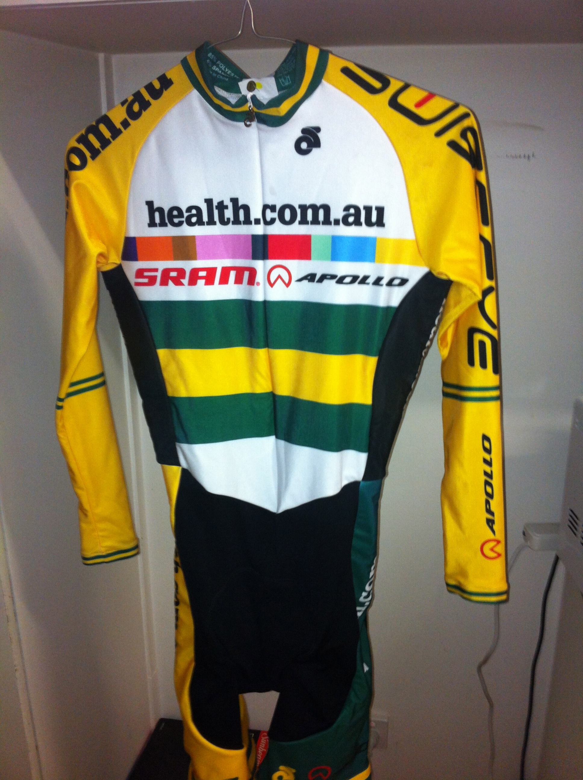 My fleecy national champ onesie, thanks to health.com.au