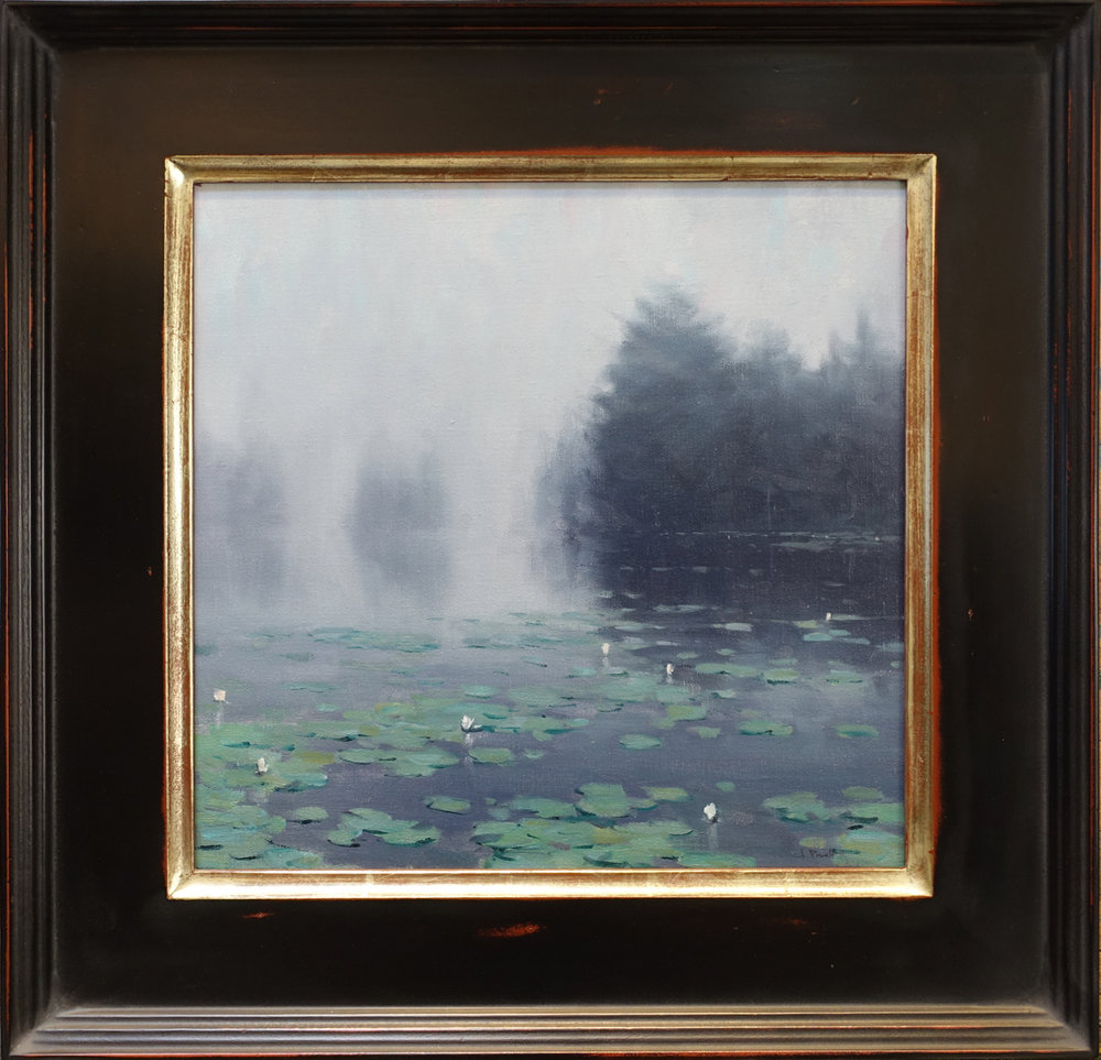 fog and lily pads16x16.jpg