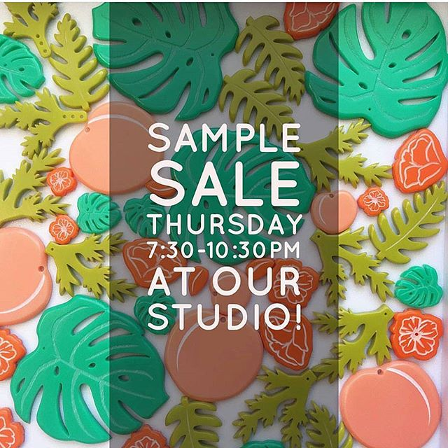 Thursday night is your chance to snag some unique Woll Jewelry pieces!!#regram @woll_jewelry  #samplesale #getitbeforeitsgone