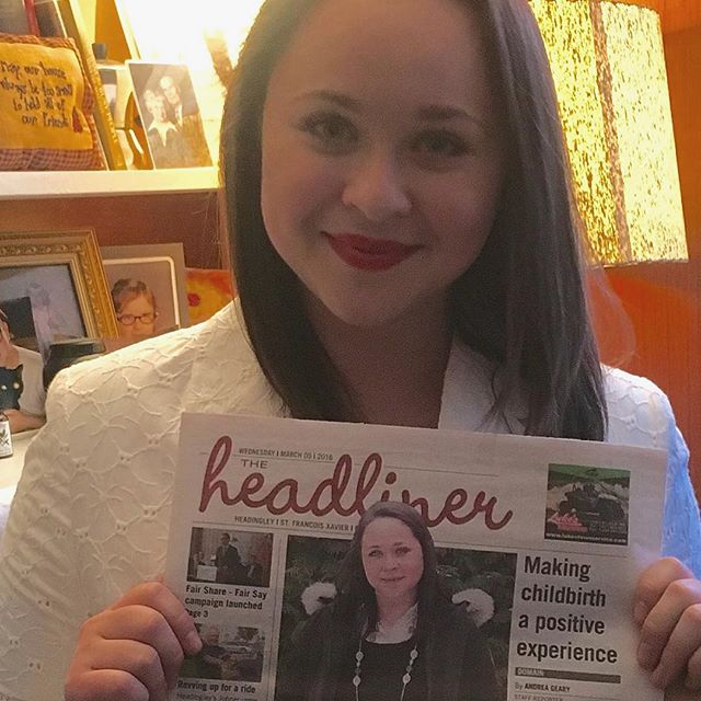 The Mulberry Tree Pregnancy & Birth Support is featured on this weeks cover of the Headliner! We are so grateful to support amazing women in our community, in so many different ways.