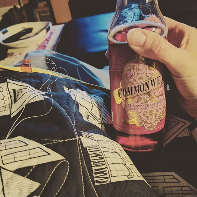 Binding party with some #commonwealthciders.