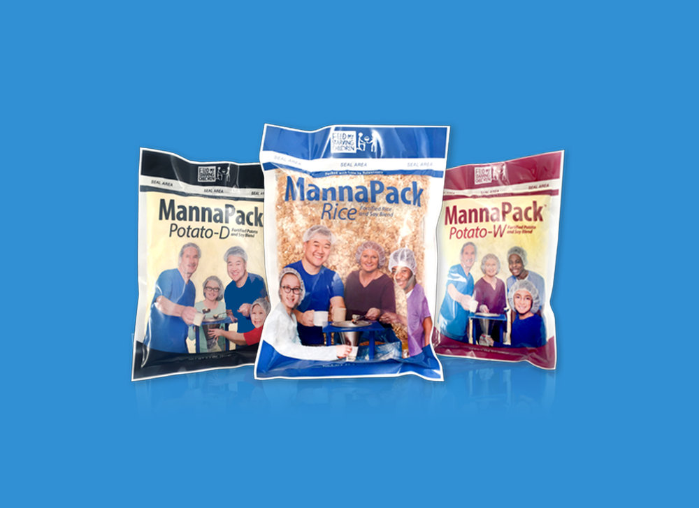 MannaPack meal packaging refresh.