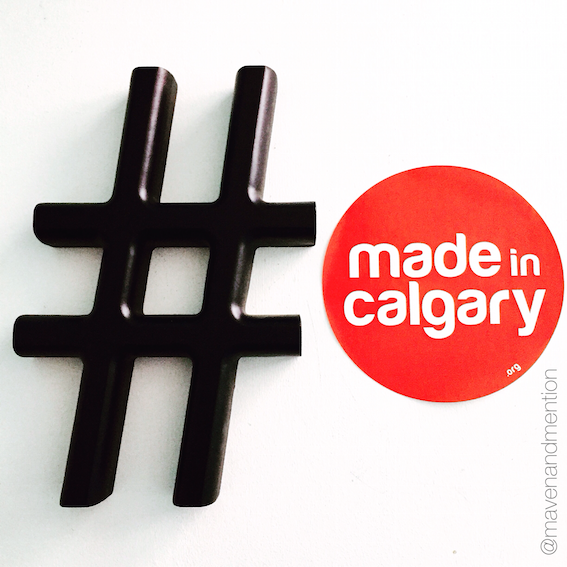 Maven & Mention | Made In Calgary - spot the dot