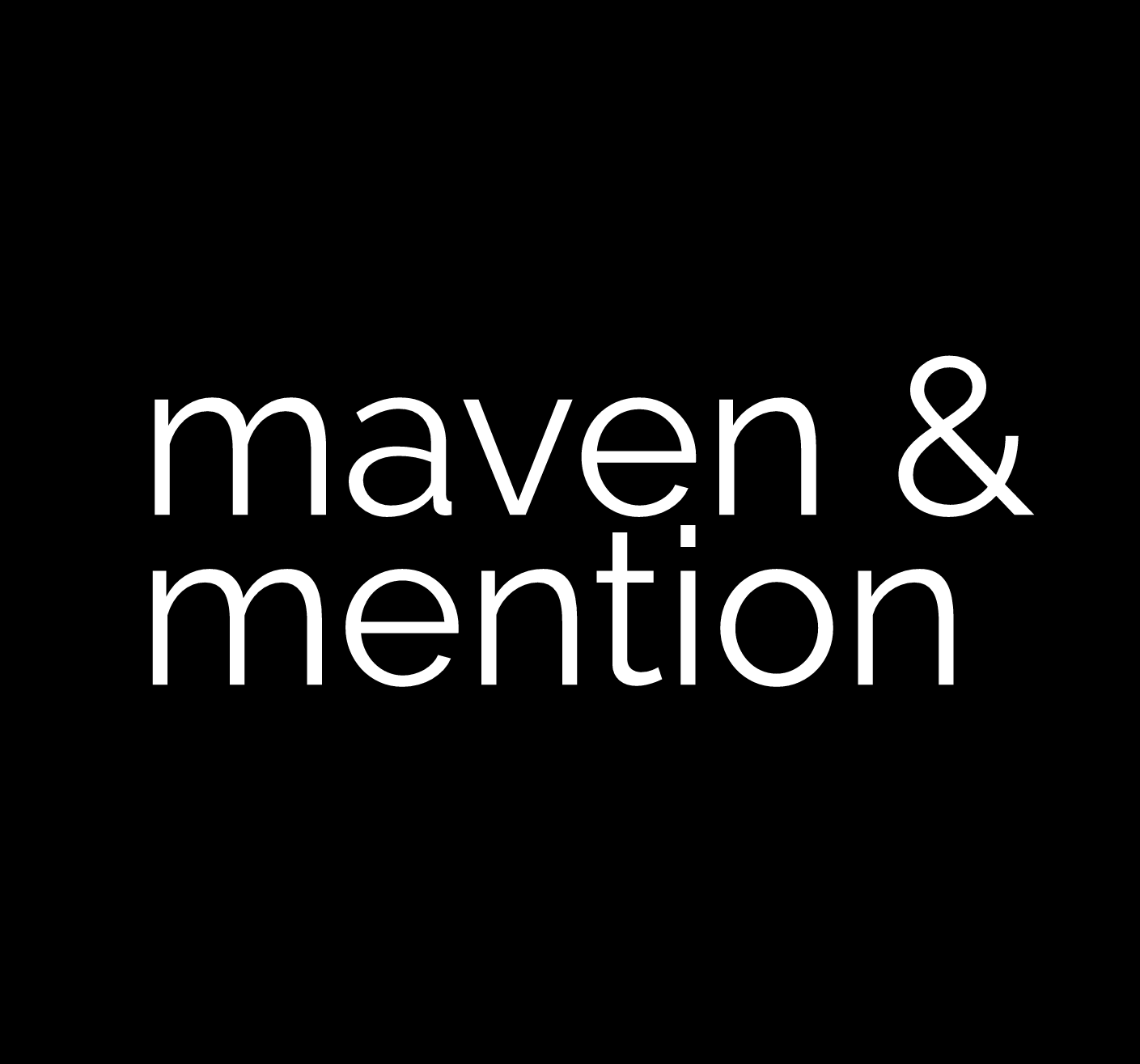 Maven & Mention