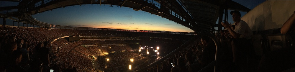 This is the magic I was talking about - about over 62,000 fans at once in Metlife Stadium, NJ