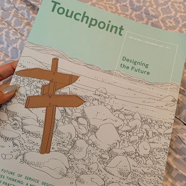Second one for the win.. grab a copy of the latest Touchpoint, the Journal of Service Design to read my research and perspective on Culture-driven Service Transformations. #servicedesign #sdn #touchpoint #culturechange #servitization