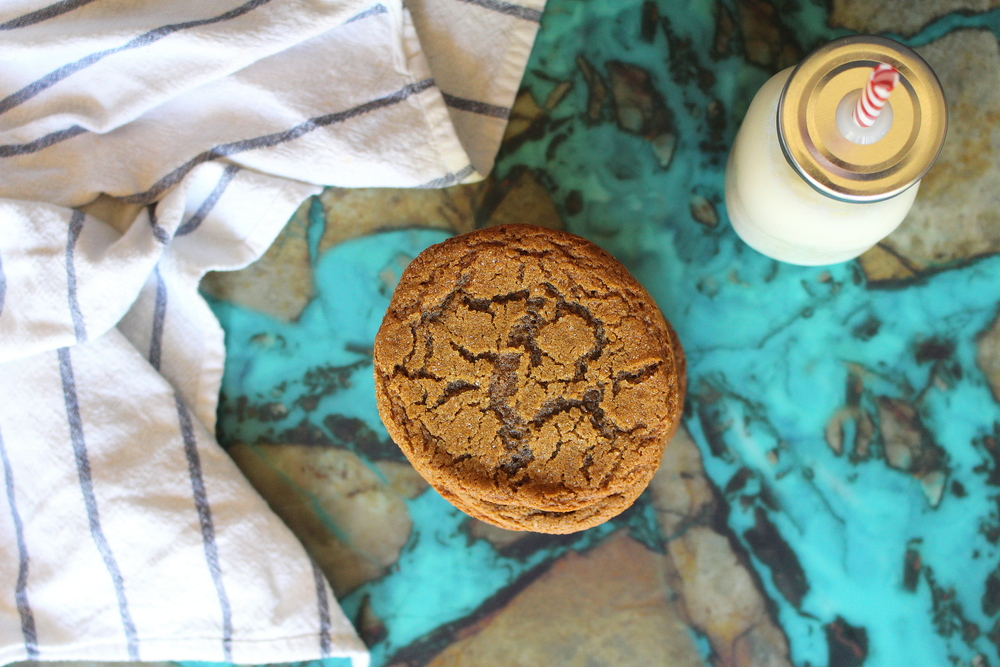 molasses cookies-4