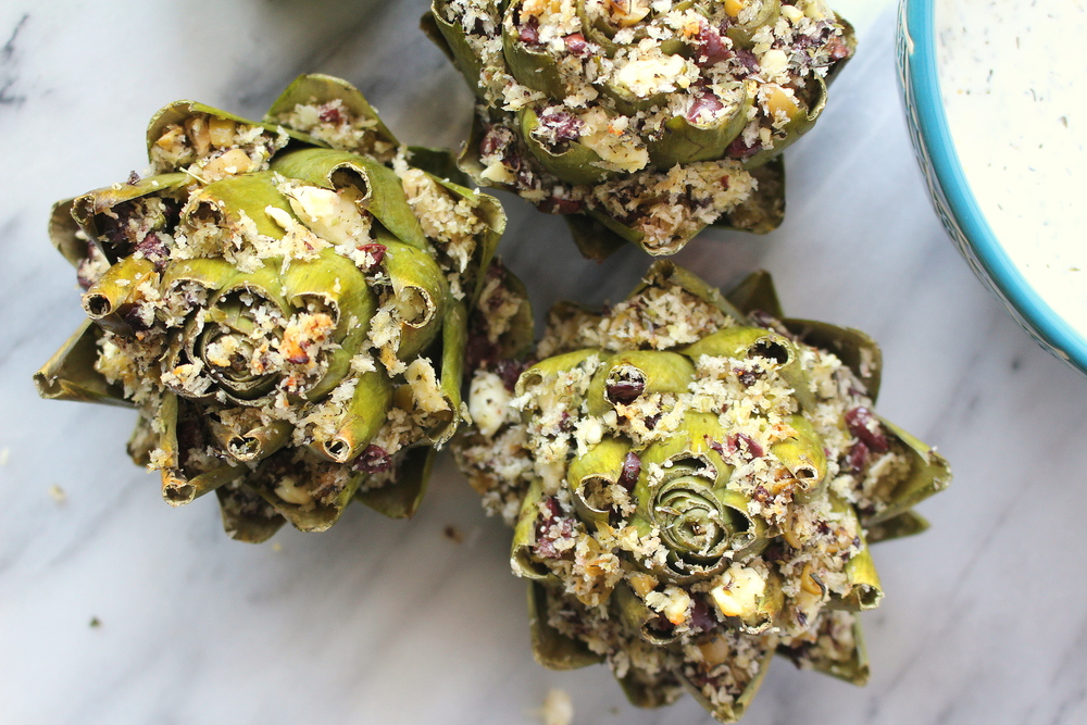 stuffed artichokes-7
