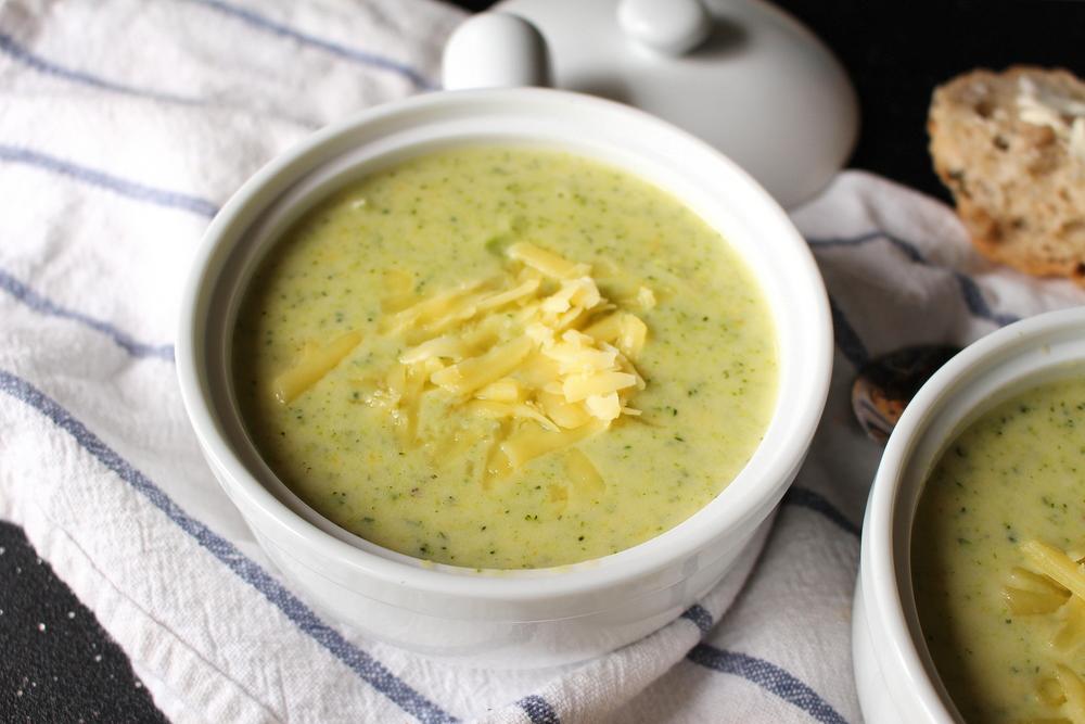 broccoli cheddar soup-5