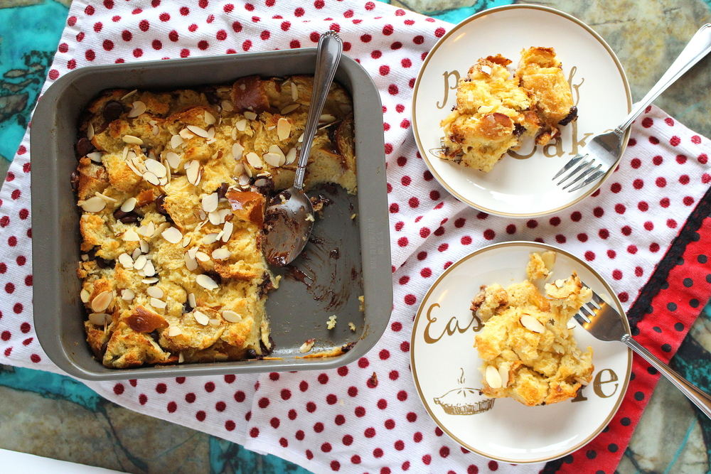 bailey's bread pudding-4