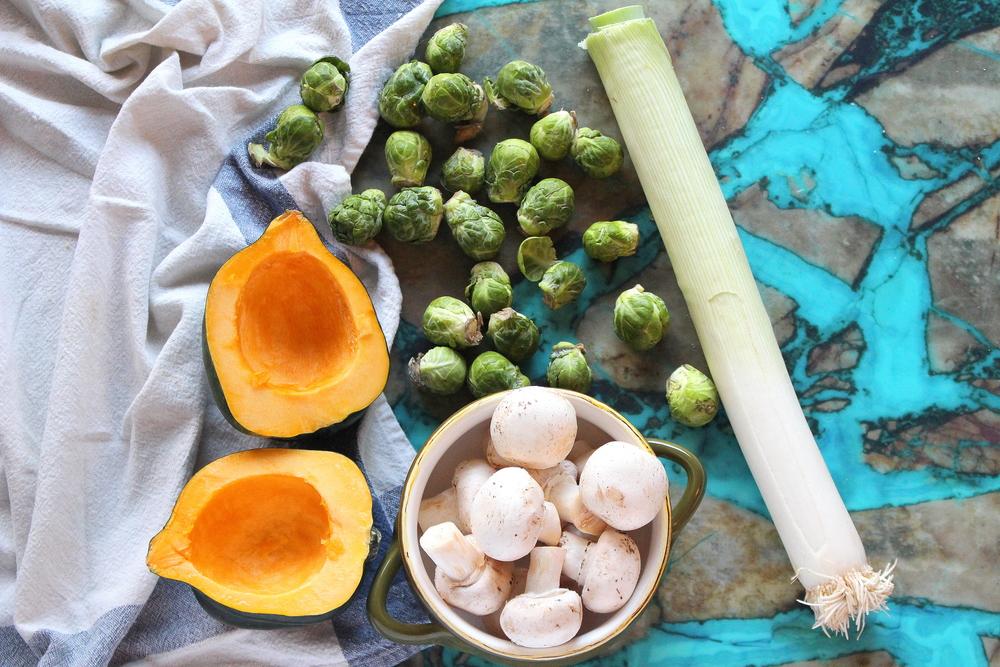 stuffed acorn squash-1
