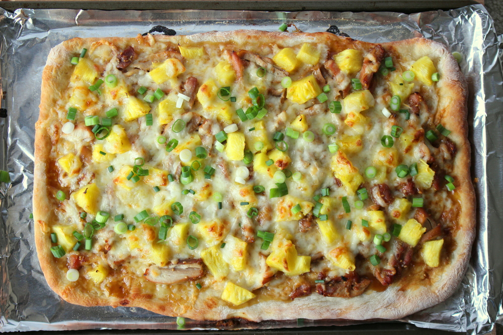Teriyaki Chicken Pizza-1