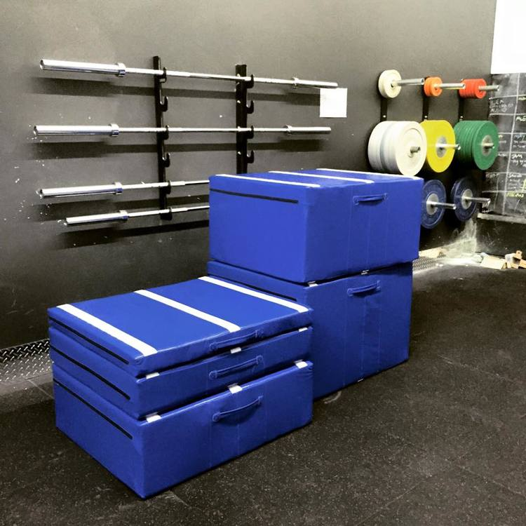 For those of you who had your shins punished from attempting box jumps... We're running out of bandaids so, you now have soft height adjustable plyo boxes!