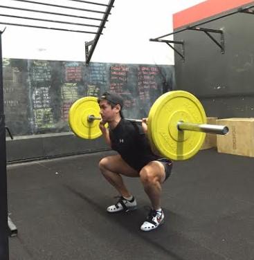 Bottom position squats not