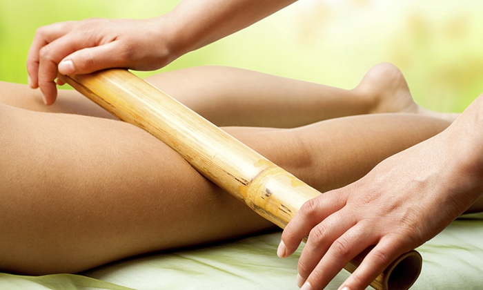 Bamboo Fusion Massage   Bamboo Fusion Massage uses various lengths of smooth bamboo stalks to perform massage.  This type of massage uses bamboo to knead tissue in a Swedish or Deep Tissue massage.  The stalks are slightly heated and used to soothe sore, painful, tired, or tender muscles.   Sessions available in:  30 minutes $30  60 minutes $55