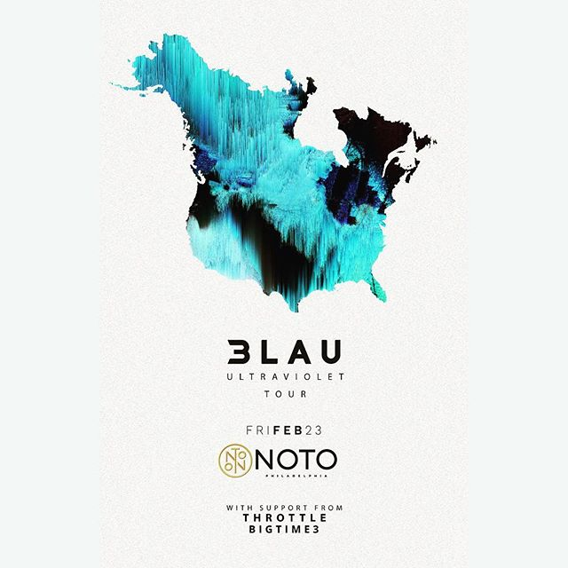 We're so pleased to announce the start of our Moving On Tour for this spring with our first stop in #Philadelphia playing with @3lau & @throttle at @notophl ! Can not wait to support these guys for the #Ultraviolettour and celebrate the #eagles win ! More shows to be announced soon. DM us for tickets and tag your friends for a chance to win an exclusive meet and greet at our pre party. We hope to see you all there! #bigtime3 #ultraviolettour #noto #notophl #movingon #philadelphia