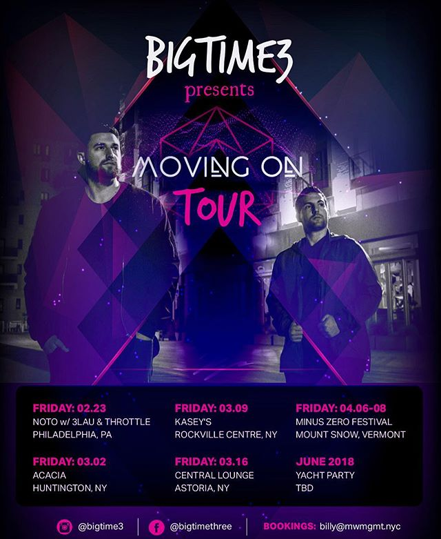 Here's our schedule for the month of March and where we will be performing at. Last weekend was a blast at @notophl ! Catch us tomorrow night at #acacia in #huntington Many more dates to be announced. #bigtime3 #bt3 #movingontour