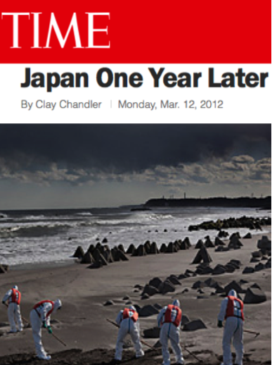'JAPAN ONE YEAR LATER' TIME, March 12, 2012