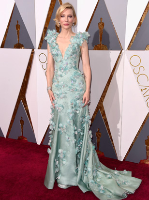 Cate Blanchett in an Armani gown