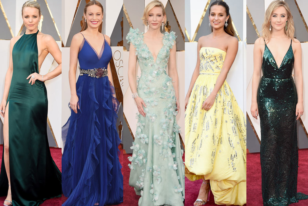 Some of the red carpet's stars from the Academy Awards 2016