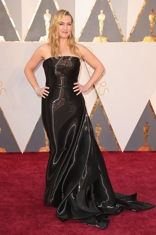 Kate Winslet in a Ralph Lauren gown