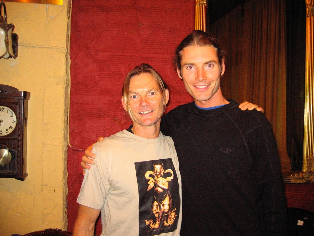 with John Scott